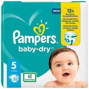 Pampers Windeln baby-dry Größe 5 (11-16 kg)