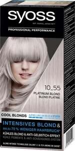 Syoss Professional Performance Cool Blonds 10_55 Platinum Blond