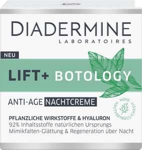 Diadermine Lift + Botology Anti-Age Nachtcreme