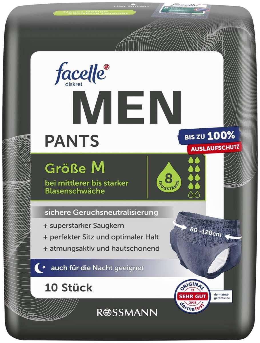 Bild 1 von facelle diskret Hygiene Pants MEN Größe M