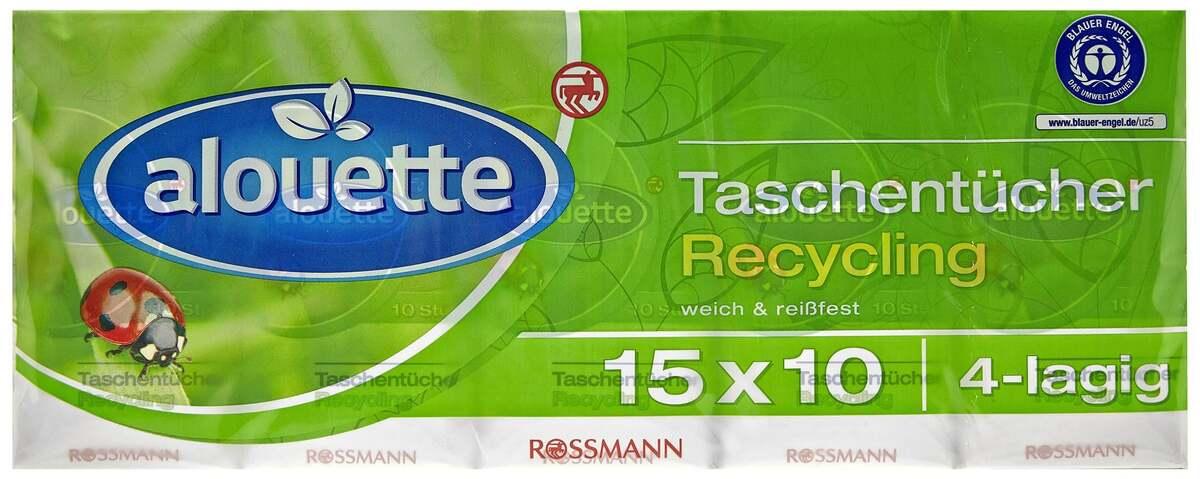 Bild 1 von alouette Taschentücher Recycling