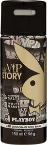 Playboy My VIP Story Deodorant Body Spray