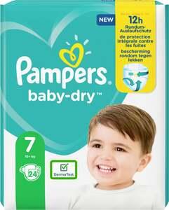 Pampers Windeln baby-dry Größe 7 (15+ kg)
