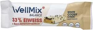 WellMix Balance Riegel White Cookie Choc