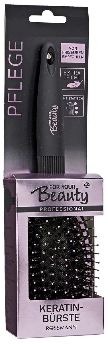 Bild 1 von for your Beauty FOR YOUR BEAUTY PROFESSIONAL KERATINBÜRSTE
