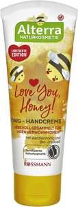 Alterra Handcreme Love you, Honey! Mit Akazienhonig & Bio-Jojobaöl