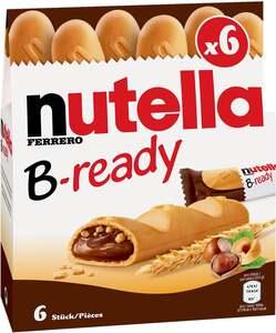Ferrero Nutella Waffeln mit Nuss-Nugat-Creme und Weizencrisp