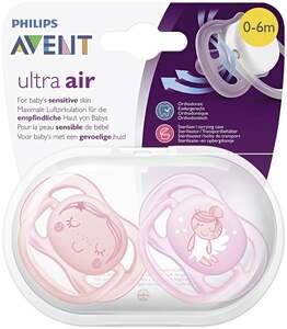 PHILIPS AVENT Beruhigungssauger Ultra Air (0-6 Monate)