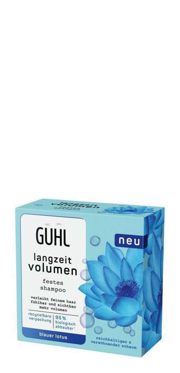 Bild 1 von Guhl Festes Shampoo langzeit volumen Blauer Lotus
