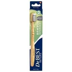 Dr.BEST Nature Bambus Interdent Zahnbürste mittel