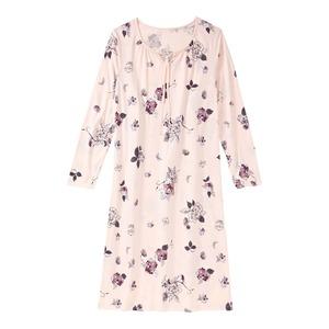 Damen-Nachthemd  mit Bindebändern