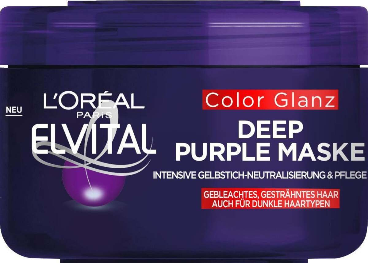 Bild 2 von L'Oréal Paris Elvital Color Glanz Deep Purple Maske
