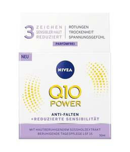 NIVEA Q10 Power Anti-Falten + Beruhigung Tagespflege Sensitive