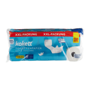 KOKETT     Toilettenpapier XXL