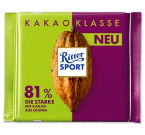 RITTER SPORT Nuss- oder Kakao-Klasse