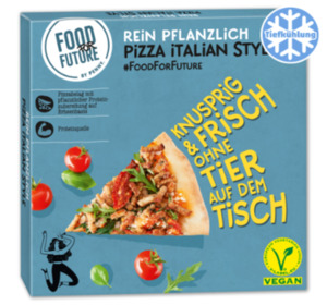 FOOD FOR FUTURE Vegane Pizza