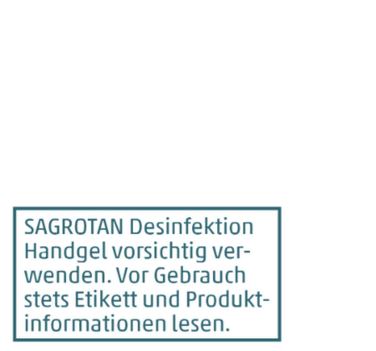 Bild 2 von SAGROTAN Desinfektion Handgel