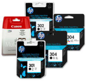 HP oder CANON Druckerpatronen
