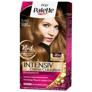 Poly Palette Intensiv Creme Coloration 546 Caramel Goldblond 115ml