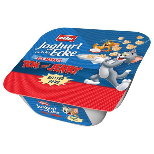 Müller Joghurt mit der Ecke Tom und Jerry Butterkeks 140g