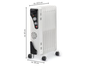 SILVERCREST® Ölradiator, 2000 Watt, mit 9 Rippen