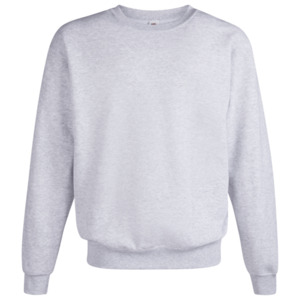 Fruit of the Loom Sweatshirt Sschwarz + Graumeliert Größe M 2er Pack für Herren