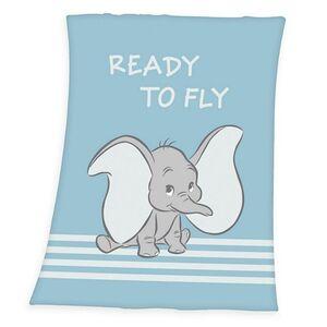 Baby Lizenz Kuscheldecke Dumbo 1