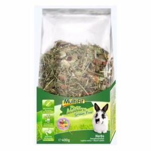 MultiFit Grain Free Herbs Zwergkaninchen 400g