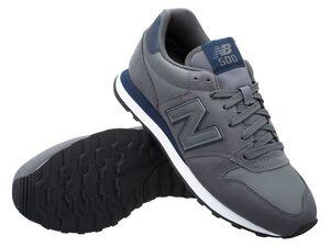 New Balance Sneaker Herren dark grey, perfekt als Sport- oder Freizeitschuh