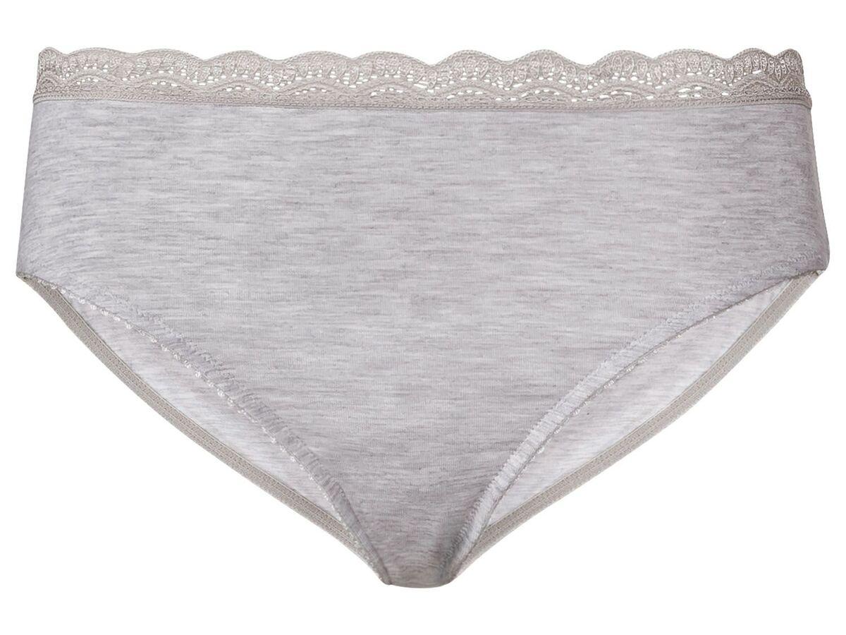 Bild 5 von ESMARA® Lingerie Slips Damen, 2 Stück, mit Spitze