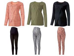 ESMARA® Umstandspyjama, mit bauchbedeckender Hose, mit Bio-Baumwolle