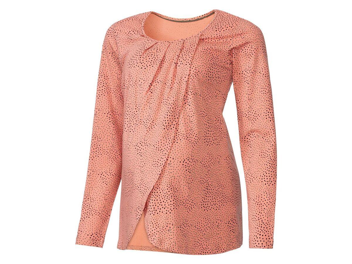 Bild 4 von ESMARA® Umstandspyjama, mit bauchbedeckender Hose, mit Bio-Baumwolle