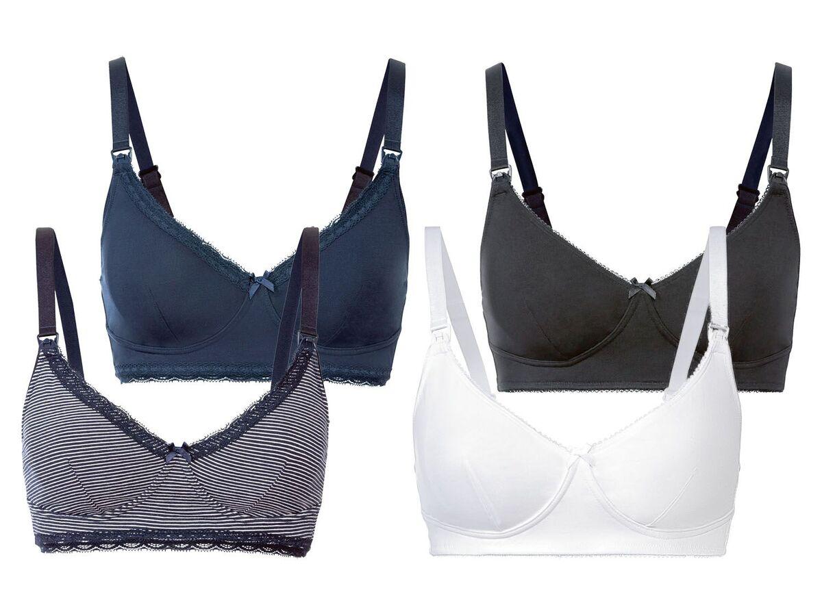Bild 1 von ESMARA® Still BH Damen, 2 Stück, mit Clip-Verschlüsse, bügellos, mit Baumwolle