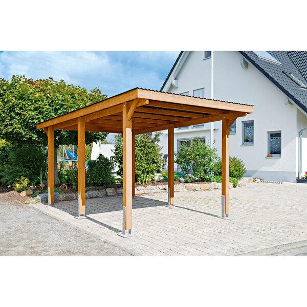 """Carport """"Dortmund"""", 301x504 cm, Fichte unbehandelt"""