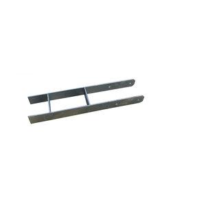 Karibu              H-Pfostenanker für 12x12 Pfosten, 6er-Set