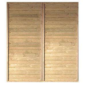 Karibu              Seitenwand, KDI, 1,80 x 2,00 m