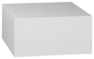 Couchtisch in Weiss 'Monoblock'