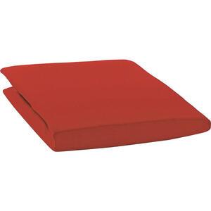 Estella Spannbetttuch zwirn-jersey rot bügelfrei, für wasserbetten geeignet , 6900009 Zwirn-Jersey*mbo* , Textil , 100x200 cm , Zwirn-Jersey , bügelfrei, für Wasserbetten geeignet , 004142011814