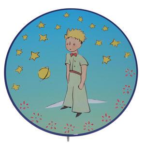 XXXLutz Kinderwandleuchte , Niermann  Prinz *mb* , Multicolor , Kunststoff , 25x8x25 cm , Schnurschalter , 005448019501
