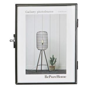 Carryhome Bilderrahmen schwarz , Gallery , Metall, Glas , 14.7x18x1.7 cm , lackiert , 001883015501
