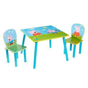 Peppa Wutz - Holz Kinder-Sitzgruppe