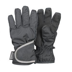 Fingerhandschuhe - eisengrau - Gr. 006