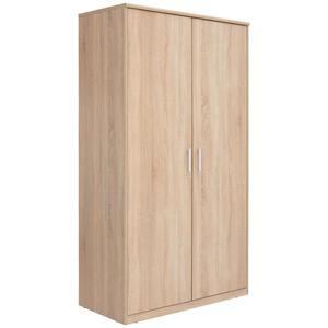 Xora Kleiderschrank 2-türig sonoma eiche , Easy , Holzwerkstoff , 1 Fächer , 106x194x54 cm , Nachbildung , erweiterbar,erweiterbar,erweiterbar,erweiterbar , 000017003135