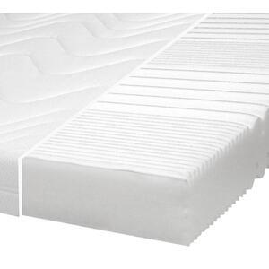 Carryhome Komfortschaummatratze 80/200 cm , Bozen P480 , Weiß , Textil , H2=mittel bis ca.80kg , 80x200 cm , Doppeltuch , 002157002905