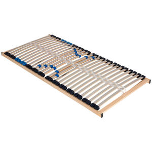 Sleeptex LATTENROST 90/200 cm Birke Echtholz , Levi 500 , Holz , Echtholz,Echtholz , 90x200 cm , Natur,foliert , Über- und Sondergrößen erhältlich, Federholzleisten verleimt, bewegliche Leistenla