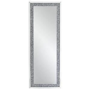 Xora Spiegel silberfarben , Atlanta , Glas , 60x160x4 cm , lackiert,Nachbildung , senkrecht und waagrecht montierbar , 001047005005