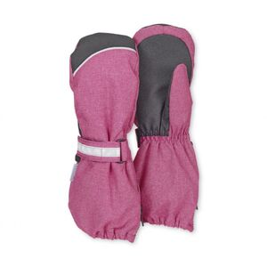 Stulpen-Handschuh - magenta meliert - Gr. 002
