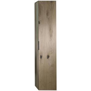 Voglauer Hochschrank eichefarben , V-Quell , Glas , Echtholz,Echtholz , mehrschichtige Massivholzplatte (Tischlerplatte),mehrschichtige Massivholzplatte (Tischlerplatte) , 4 Fächer , 32x160x35 cm ,