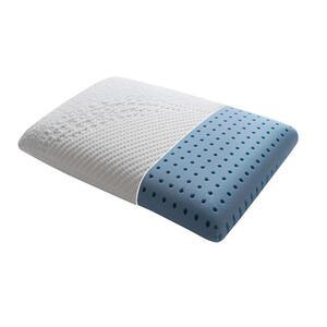 Dieter Knoll NACKENKISSEN 60/40/12 cm , Aqua Cool , Weiß , Textil , 40x12x60 cm , Doppeltuch , feuchtigkeitsregulierend, formstabil, für alle Schlafpositionen geeignet, atmungsaktiv , 000683023405
