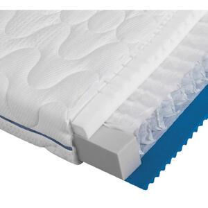 Dieter Knoll Taschenfederkernmatratze polar 3d pro 2.0 160/200 cm , Polar 3D PRO 2.0 , Weiß , Textil , H2+H2=mittel bis ca.80kg , 160x200 cm , Doppeltuch , Bezug abnehmbar/waschbar, für verstellbar